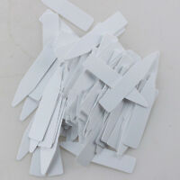 FT- 100x Plastic Plant Seed Label Pot Marker Nursery Garden Stake Tags Tool Prop