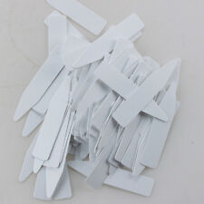 EB_ 100x Plastic Plant Seed Label Pot Marker Nursery Garden Stake Tags Tool Prop