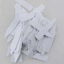 100 x in Plastica per Piante Seme Etichetta Pentola Pennarello Stanza Bebè