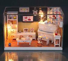 DIY Handcraft Miniature Dolls House - Cover&Light Dollhouse - UK Stock Fast Post