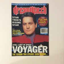 Dreamwatch Magazine #17 — January 1996 — Star Trek Voyager/Doctor Who/X-Files