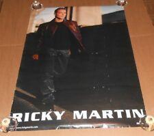Ricky Martin Promo 1999 Original Poster 24x36