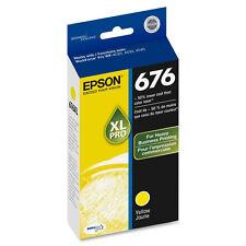 Genuine Epson 676 XL T676XL420 yellow ink for WP4520 WP4530 WP4533 WP4540 WP4590