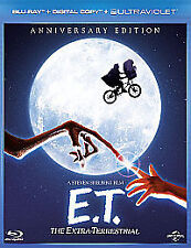 E.T. THE EXTRA-TERRESTRIAL  - REGION FREE BLU-RAY - NEW/SEALED