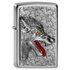EDEL  ZIPPO  Wolfhead Wolfskopf  PLATTE CHROM Neu  LP 55 €
