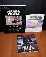 The Art of Star Wars Return of the Jedi script record LP, Episode 1 film cutting