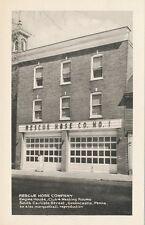Greencastle PA * Rescue Hose Co. Fire Station  ca. 1940s * Franklin Co.