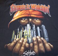 "Jay Z Men's T Shirt ""Vintage Classic"" Streets Is Watching So Hood 6XL"