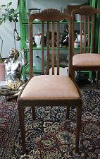 Sedia-legno/sottilmente Rosa riferimento-Art Deco/Nouveau DECORO-ART NOUVEAU Chair