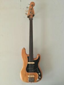 1976 Fender Precision Fretless Bass