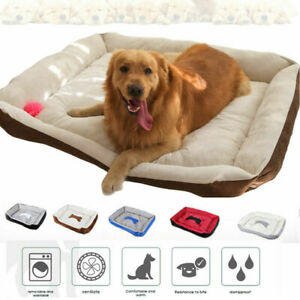 Pet Dog Bed Mat Large Dog Soft Warm Washable House for Cat Puppy Kennel Non-slip