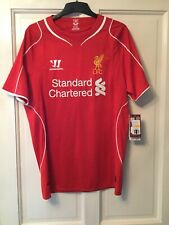 Liverpool Home Shirt 14/15 Size Men Medium Brand New With Tags