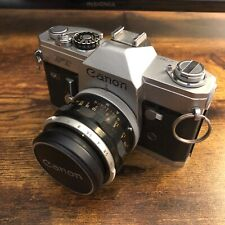 New ListingCanon Ft Ql 35mm Slr Film Camera Body with Canon 50mm lens