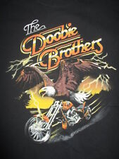 """1996 THE DOOBIE BROTHERS """"Rockin' Down the Highway"""" Concert Tour (XL) T-Shirt"""