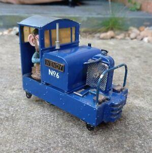 32mm Narrow Gauge Garden Railway Simplex Diesel Locomotive 'Wendy' (non runner)