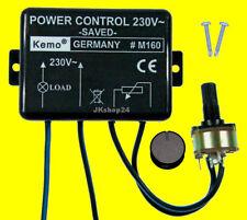 KEMO M160 Trafo-Dimmer Transformator-Leistungsregler Phasenabschnitt 110-240 V~