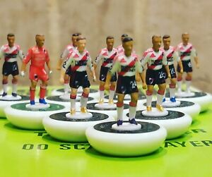 River plate home 2019/20 subbuteo team Handpainted and decals