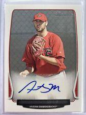 2013 Bowman Anthony Meo Prospect Autograph Card BPA-AM Diamondbacks