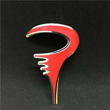 Quality PINARELLO Alloy Head Badge decal Red Color sticker bike Frame italy