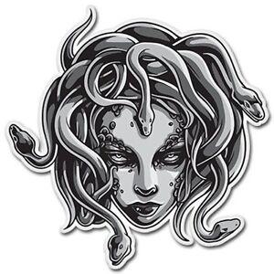 Medusa Car Vinyl Sticker - SELECT SIZE
