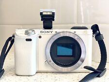 Sony Alpha a6000 24.3 MP Digital SLR Camera - WHITE (Body Only)