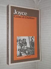 GENTE DI DUBLINO James Joyce Nemi d Agostino Garzanti 1988 romanzo libro storia