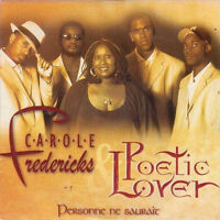 Carole Fredericks & Poetic Lover CD Single Personne Ne Saurait - France (EX/EX)