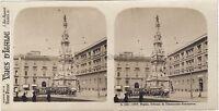 Napoli Colonna Napoli Italia Stereo Vintage Analogica Ca 1910