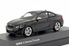 BMW 2 Series Coupe Black, official dealer model scale 1:43, new car mens gift