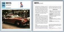Bristol - 406 Zagato 1960-61 High Performance Collectors Club Card
