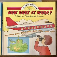 How Does It Work? Jack Long Now You Know Hardcover Science Nature Children Kids