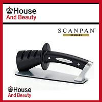 New SCANPAN 3 Step Stage Classic Knife Sharpener Genuine Free Postage Save