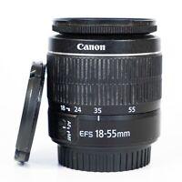 Canon EFS 18-55mm III F3.5-5.6 lens for Canon DSLR