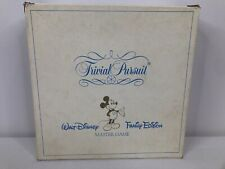 Disney Trivial Pursuit Walt Disney Family Edition ~ Complete With Damaged Box