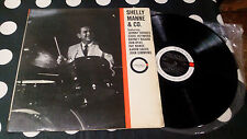 """Shelly Manne """"Shelly Manne & Co."""" LP Contact – CM 4 ITA 1965 G/F"""