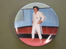 Elvis Presley Collector Plate Going For The Black Belt Bradford Exchange Delphi