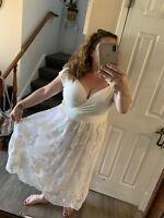 IGIGI $408 Paulette Flattering Wedding Party Cocktail Dress Plus Sz 18/20