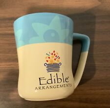 Edible Arrangements Baby Blue  Beige Color Large Coffee Mug Cup