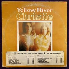 Promo ~ CHRISTIE Yellow River LP EPIC Psych 1A/1A EX-