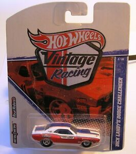 HOT WHEELS - VINTAGE RACING - SOX AND MARTIN'S DUSTER - DICK LANDY'S CHALLENGER