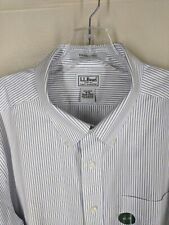 """L.L. Bean New With Tags 100% Cotton Button Down Shirt    18"""" x 33 """" MINT"""