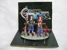 Vary Rare! CHRONO CROSS Diorama Figures Serge & Leena Japan Official Figure