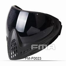 FMA Anti-fog Goggle Paintball Full Face Mask Tactical F0023 Single Layer Mirror