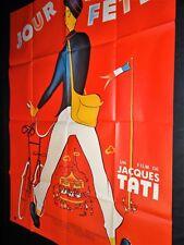jacques tati JOUR DE FETE ! affiche cinema