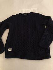 Ralph Lauren Boys Fishermans Sweater, Size XL