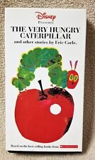THE VERY HUNGRY CATERPILLAR & Other Stories ERIC CARLE Vhs Video Tape SCHOLASTIC