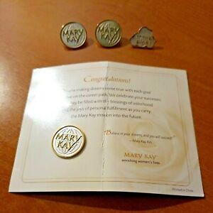 Mary Kay Achievement Lapel Pins Set of 4