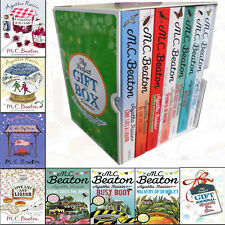 Agatha Raisin M C Beaton Collection 7 Books Gift Wrapped Slipcase With Journal
