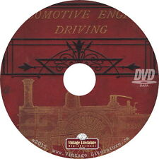 Locomotive Engine Driving {1888 How To Drive a Steam Engine} on DVD
