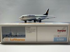 Herpa Wings 515900 1 : 500 - Lufthansa Boeing B737 300 NG D ABXH OVP
